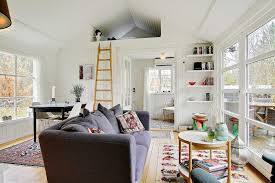 Small House Furniture Black And White Danish Summerhouse Small House Bliss
