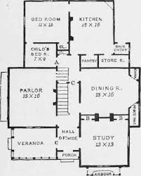 rural house plans chapter xvii a rural cottage home a plan that combines