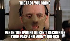 Make Memes On Iphone - face you make when the iphone doesn t recognize your face and won t