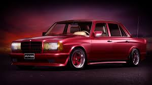 mercedes w123 amg 1984 mercedes w123 6 0 amg widebody on behance