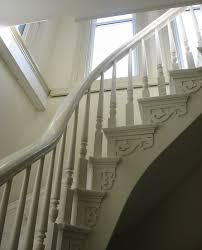 Victorian Banister Historic Promont House Milford Ohio
