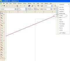 corel draw x6 has switched to viewer mode how to restore missing toolbar in a toolbox in coreldraw x6