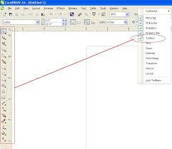 corel draw x6 rutor how to restore missing toolbar in a toolbox in coreldraw x6