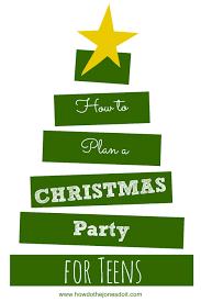 a teenage christmas party