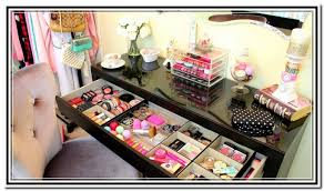 Homemade Makeup Vanity Ideas Diy Makeup Vanity Ikea Home Design Ideas