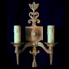 Wall Lighting Sconces Three Pairs Large Arts U0026 Crafts Sconces Wall Light Fixtures By S