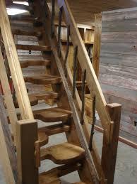 thomas jefferson created the alternating tread stairs to save