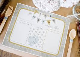 free printable paper placemats laurenjohnson
