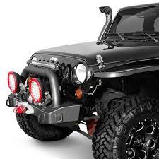 jeep rubicon winch bumper arb jeep wrangler 2008 2017 stubby black front winch hd bumper