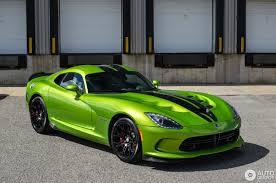 Dodge Viper Lime Green - srt viper gtc snakeskin edition 2 may 2017 autogespot