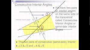 Same Side Interior Angles Definition Geometry Alternate Exterior Angles Geometry Excelent Alternate Interior