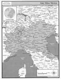 Milan Italy Map Italy Milan Mission Online Mission Info