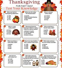 thanksgiving quiz to dazzle your family and friends