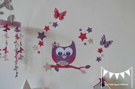 chambre hibou deco chambre bebe fille papillon 2017 et stickers hibou chouette