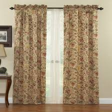 red and brown curtains pageant back tab curtain cool 20 ft