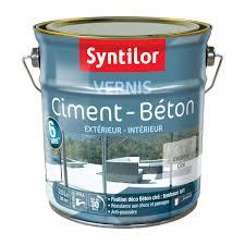 etagere pour vernis vernis ciment extérieur intérieur ciment syntilor incolore 2 5