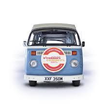 volkswagen van front wolverine o u0027connors vw campervan hire