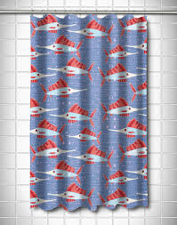 Coastal Shower Curtain by Sailfish Coral Shower Curtain Island Home Shower