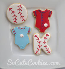 baseball baby shower favors so cute cookies