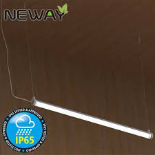 Hanging Fluorescent Light Fixtures by 36w48w60w Ip65 Fluorescent Light Fixture Waterproof Led Hanging