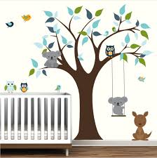 Decoration Baby Nursery Wall Decals by Baby Nursery Tree Wall Decals Kids Room Wall Decor Tree With