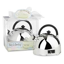 baby shower keepsakes kate aspen teapot timer baby shower favor bed bath beyond