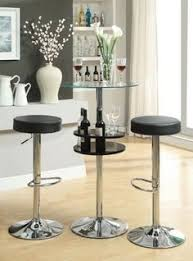 bar table with storage base coaster glass top round bar table with chrome base round bar table