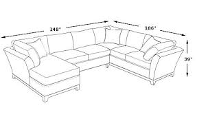 sofa dimensions standard sectional sofa dimensions sectional sofa dimensions and metropolis