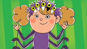 five creepy spiders halloween song super simple songs youtube