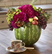 summer wedding centerpieces summer wedding idea watermelon vase centerpieces budget brides