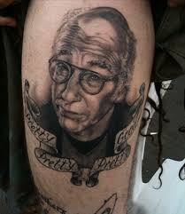 6 tattoos of larry david