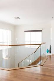 stair staircase timber stairs tasmanian oak glass