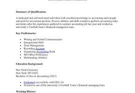 sle accounting resume sle resume for accounts payable and receivable impressive