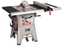 ryobi table saw blade size ryobi contractors saw 1800 watt 254mm buy online in south
