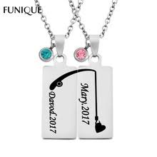 custom necklaces for couples custom couples necklaces promotion shop for promotional custom