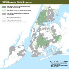 New York Map Districts by Food Retail Expansion To Support Health Fresh Nycedc