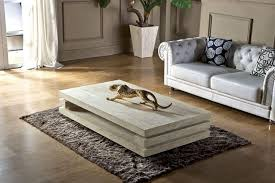 High End Coffee Tables High End Living Room Furniture Iran Travertine Stone Coffee Table