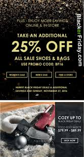 ecco black friday 2017 sale shoe handbag deals cyber monday 2017
