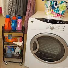 Laundry Room Cart - black metal laundry supply storage cart jpg