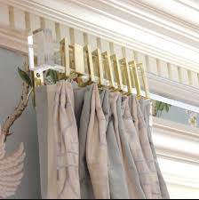 How To Install Cambria Curtain Rods by Stylish Brushed Nickel Curtain Rods U2014 The Homy Design