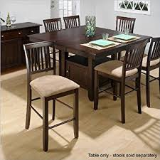 Pedestal Dining Table With Butterfly Leaf Extension Amazon Com Jofran Counter Height Dining Table With Butterfly