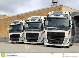 volvo truck commercial three dsv volvo fh truck tractors editorial image image 53111890
