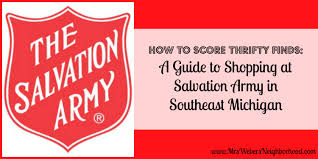 guide to shopping at salvation army thrift stores in southeast