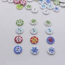 aliexpress com buy 15mm christmas buttons sewing buttons wooden