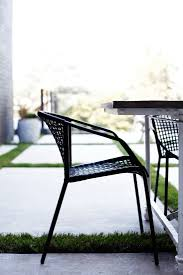 Outdoor Modern Dining Chair Sophia Black Dining Chair
