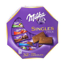milka singles assorted mix mini chocolate bars 147g 5 2oz ebay