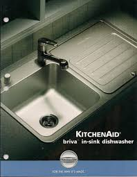 Kitchen Sink Dishwasher Kitchenaid Briva In Sink Dishwashers