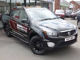 used ssangyong musso cars second hand ssangyong musso