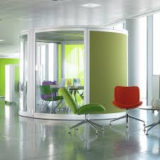 decorations simple home office design ideas with white table green