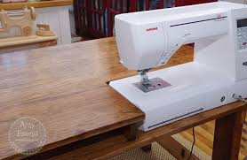 sewing machine table ideas sewing table gift sewing rooms room and craft